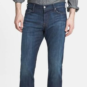 7 for all mankind like new Men's size 33 dark wash